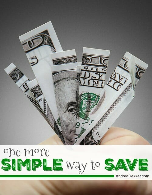 simple way to save