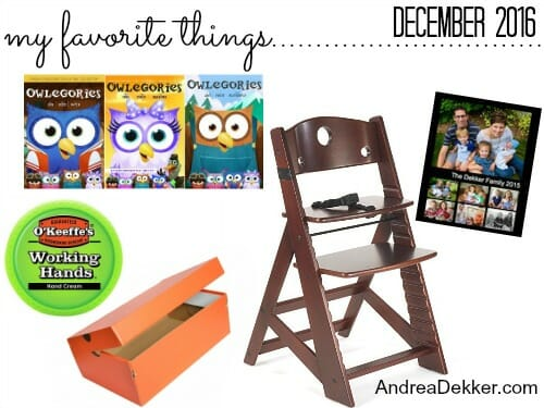 favorite things december