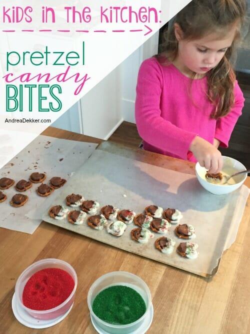 pretzel candy bites