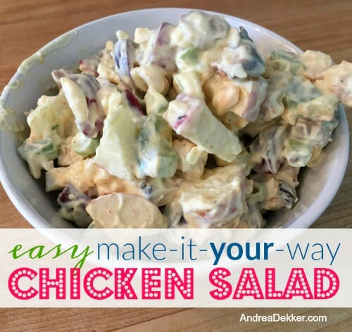 Easy Make It Your Way Chicken Salad
