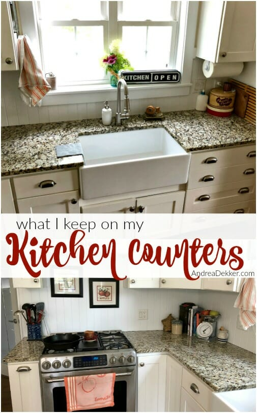 What I Keep On My Kitchen Counters Andrea Dekker