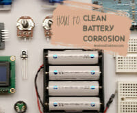 how to clean battery corrosion