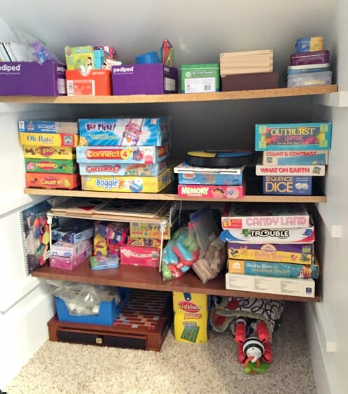 puzzle and game storage