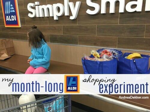 My Month-Long Aldi Shopping Experiment - Andrea Dekker