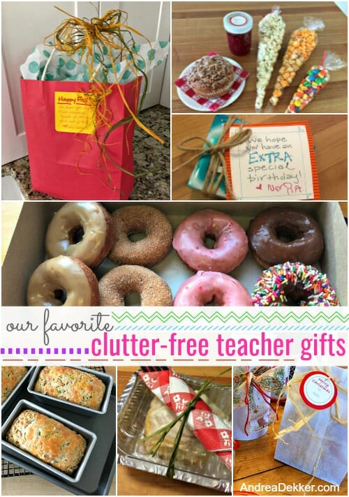 Our Favorite Clutter Free Teacher Gifts