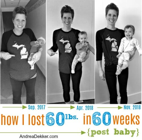 how I lost 60 pounds in 60 weeks