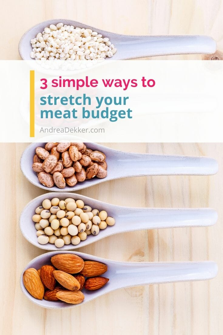 3 simple tips to stretch your meat budget via @andreadekker
