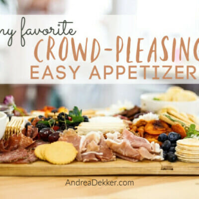 crowd-pleasing easy appetizers