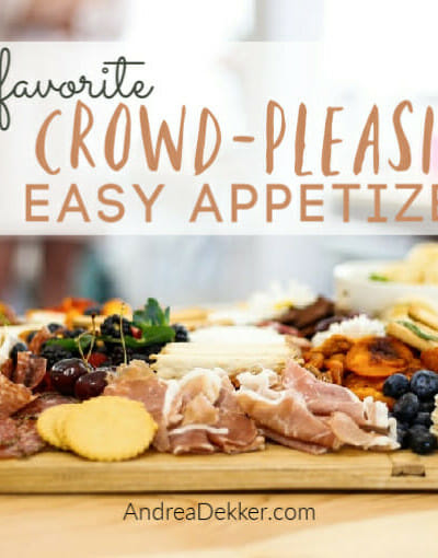 crowd-pleasing easy appetizers