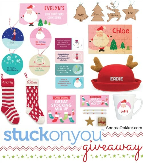 personalized holiday gifts goodies and giveaways andrea dekker