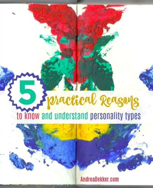 5 reasons to know and understand your personality type