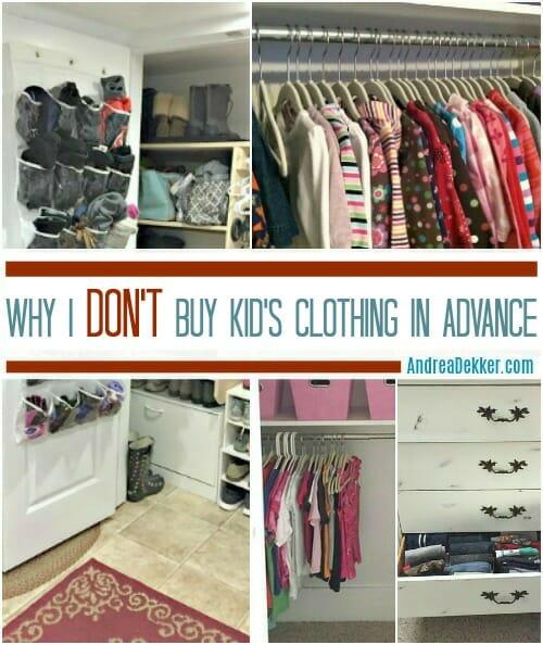 c3f4520f9 Why I Don't Buy Kid's Clothing in Advance - Andrea Dekker