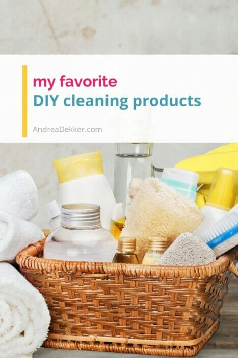 my favorite diy cleaning products