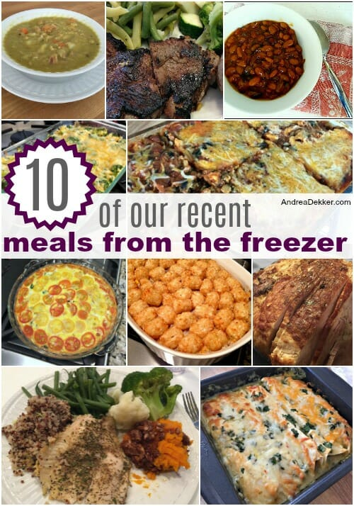 family-friendly freezer meals