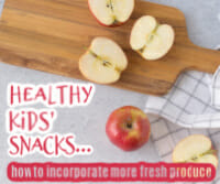 healthy kids' snacks