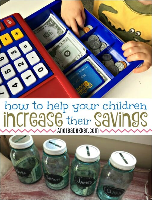 help your children increase savings