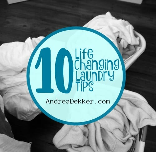 life-changing laundry tips