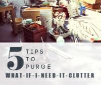 tips to purge thumb