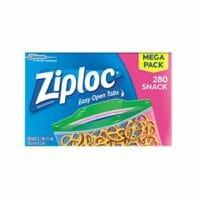 Ziploc Snack Bags