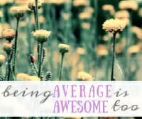 average is awesome thumb