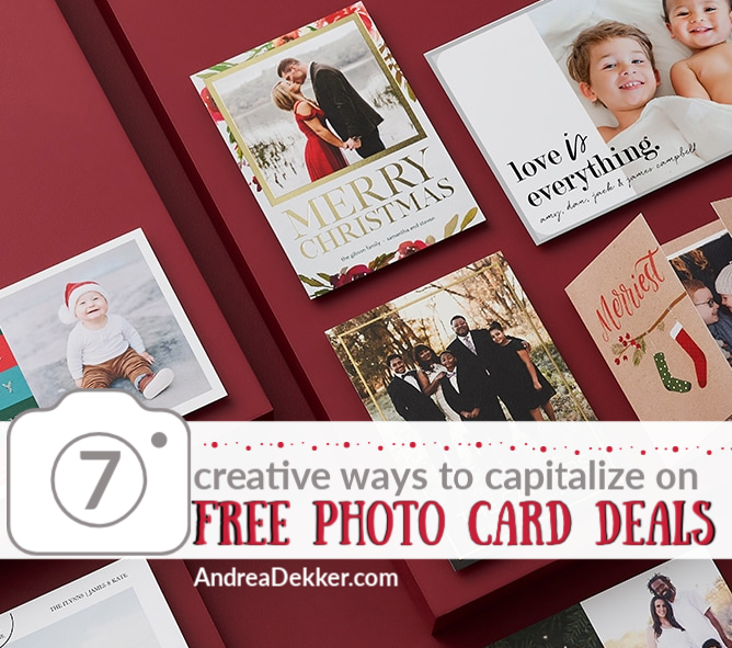 free photo card deals