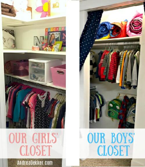 kids' closets