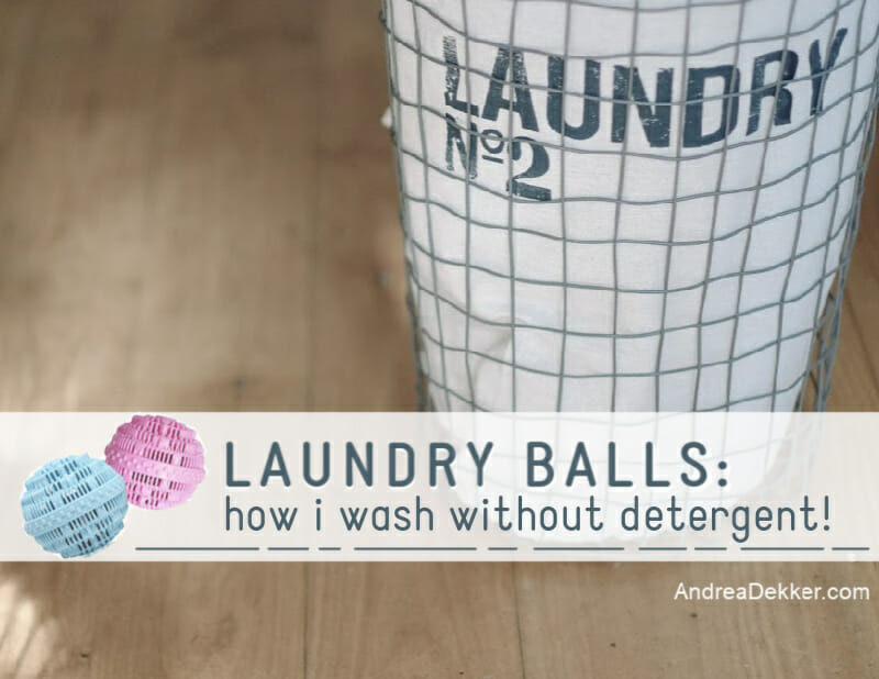 how to use laundry balls