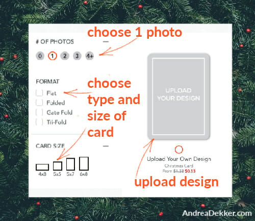 how to upload free photo card