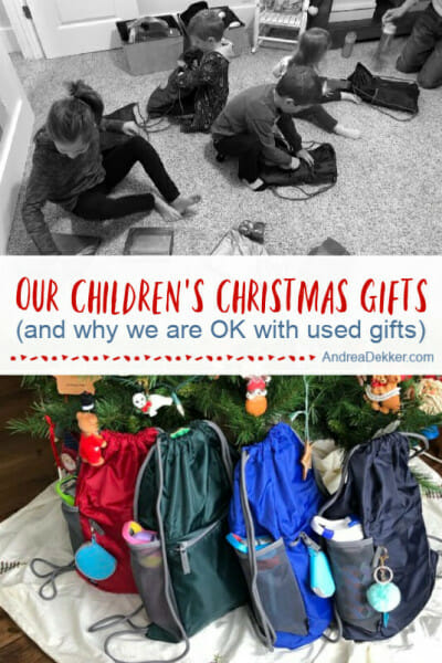 our children's christmas gifts