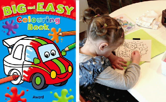 Big and Easy Colouring Books