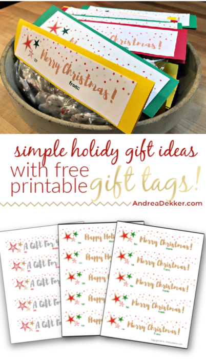 ideas for simple teacher gifts