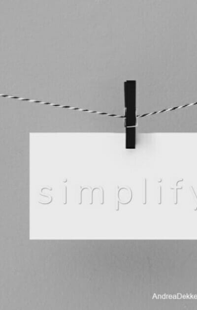 simplify not card