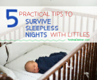how to survive sleepless nights with littles
