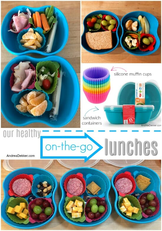 healthy on-the-go lunches