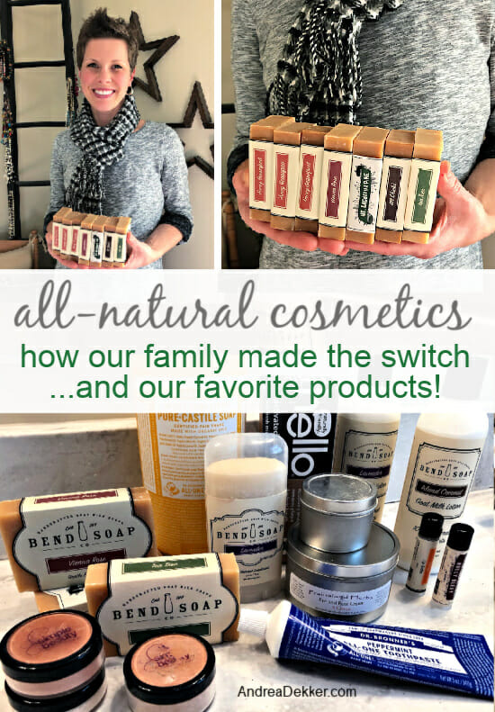 our favorite all-natural cosmetics