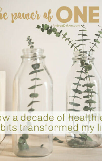 the power of one healthier habit