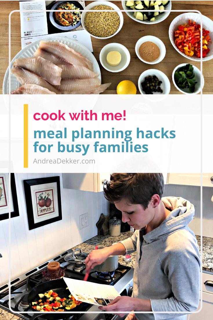 meal planning for busy famlies via @andreadekker
