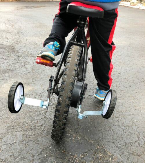 adjustable training wheels
