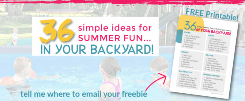 free summer fun for families