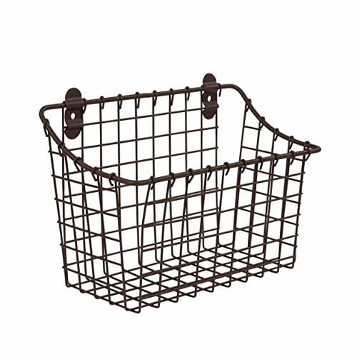 Wall-Mounted Basket