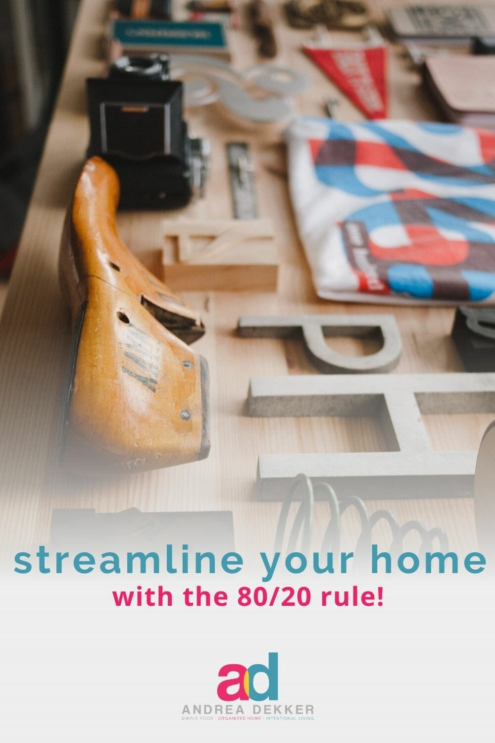 If you're looking for a simple mindset shift that could totally transform the way you view your stuff… and streamline your home and life in the process, let me introduce you to the 80/20 rule! via @andreadekker