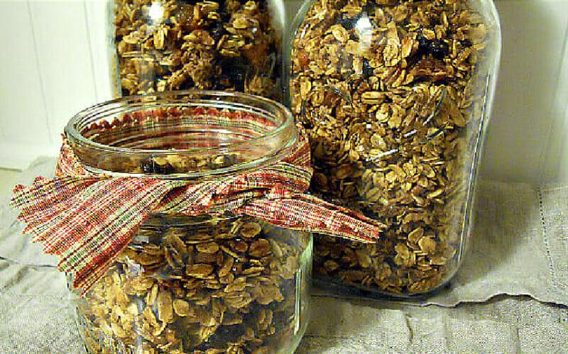 delicious whole grain granola