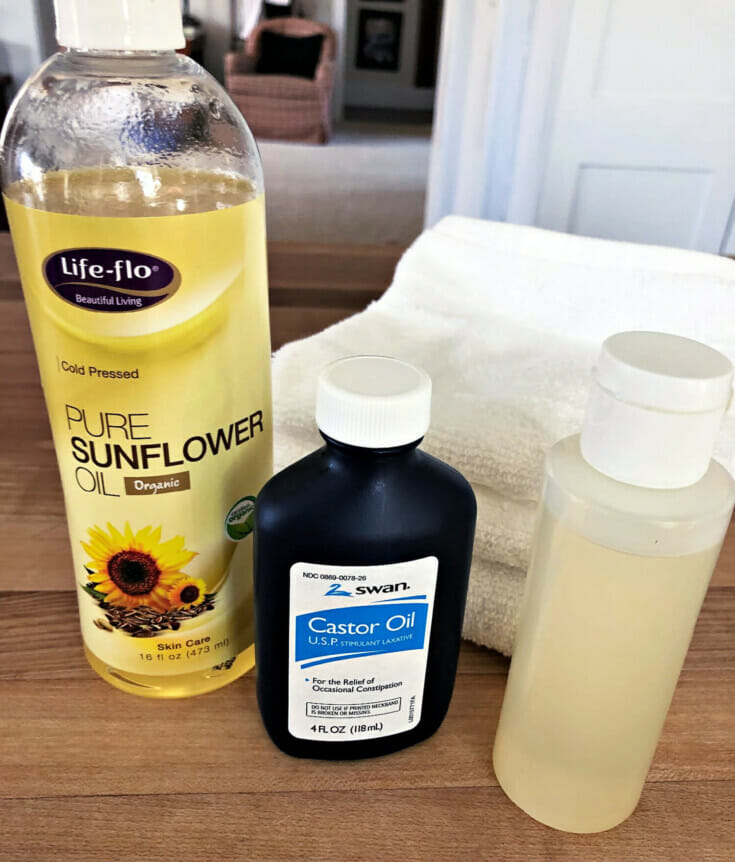 using the oil cleansing method as a homemade facewash