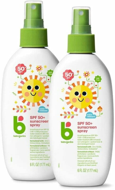 babyganics all natural sunscreen