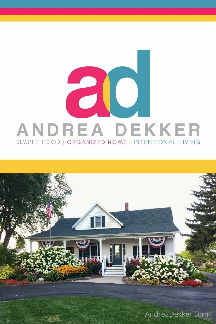 Welcome to AndreaDekker.com -- a virtual home for seekers of simple organized living! Get the tools, strategies, and mindsets that will help you get started and make forward progress on your journey to a simpler, more organized home and life. via @andreadekker