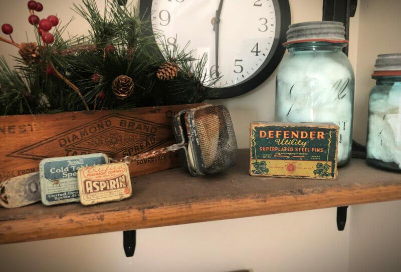 antique bathroom decorations