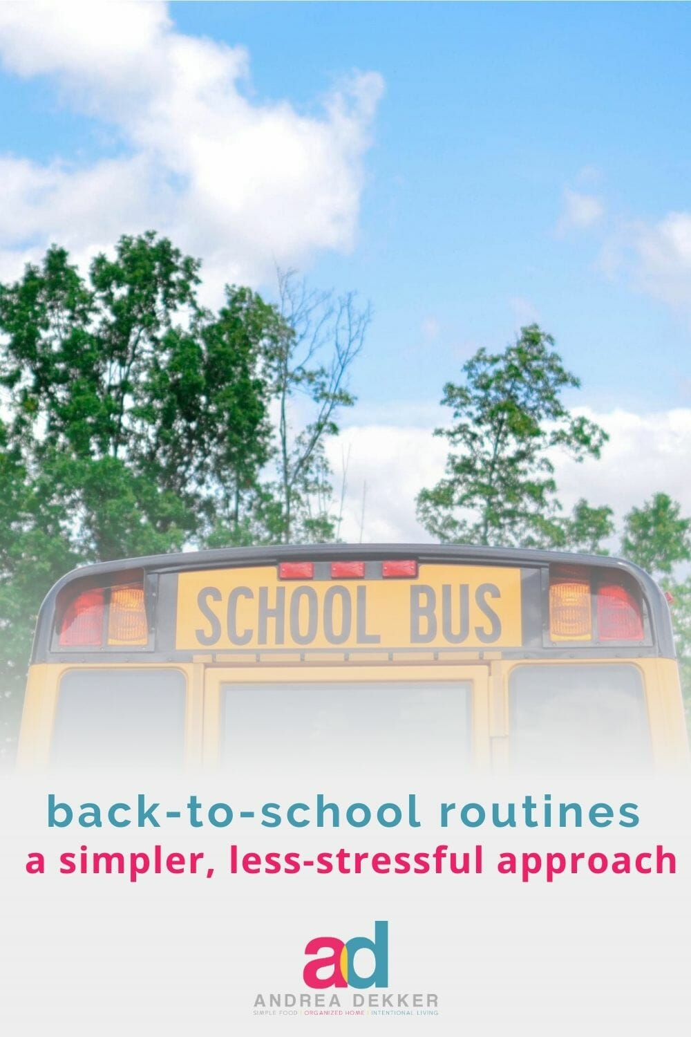 Trying to be optimistic and assume the kids will actually go back to school this fall? If so, I've got some refreshing news to share with that nagging voice in the rule-following part of your brain telling you to dust off your back-to-school routine. via @andreadekker
