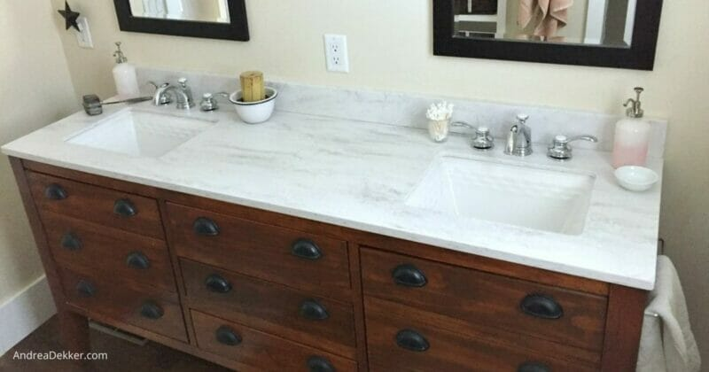 DIY Granite counter cleaner