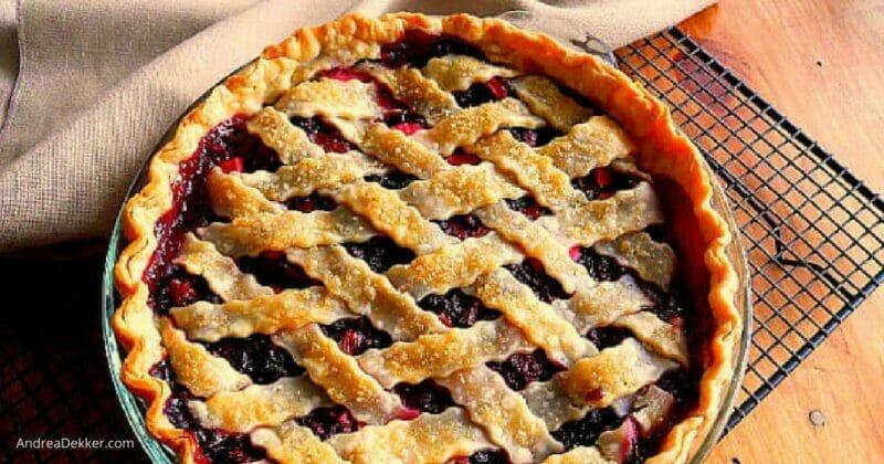 homemade bumbleberry pie