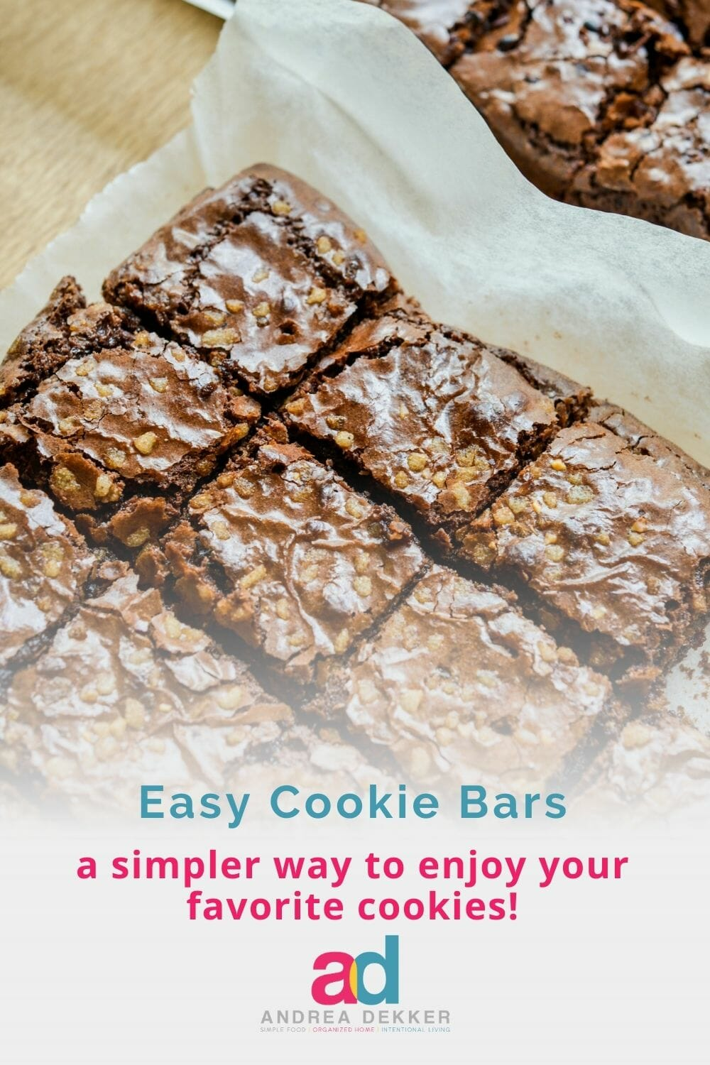 Maximize your time in the kitchen with my 3 tips to simplify cookies — including the versatile recipe for cookie bars that works with all your favorite cookie doughs! via @andreadekker